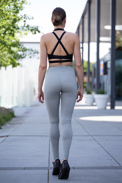 High Waist Leggings Grey Rabbit