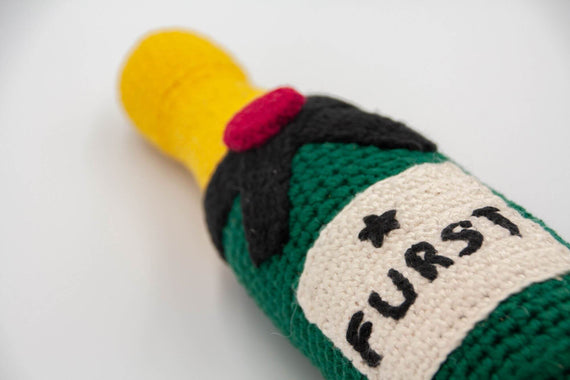 FURST - Champagne is a high-end dog toy