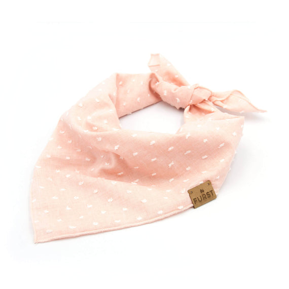 FURST - Chic bandana for cotton plumetis cat