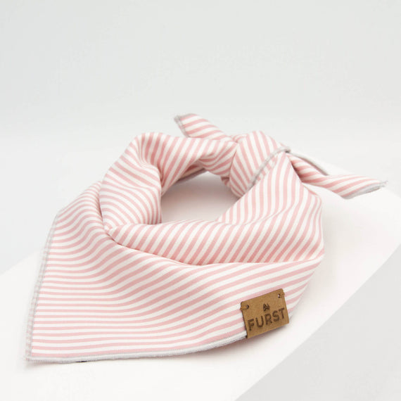 FURST - High-end bandana for cat in pink sailor style