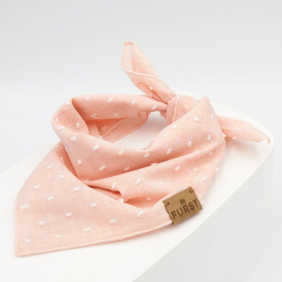 FURST - Elegant pink bandanna powder for plumetis cat
