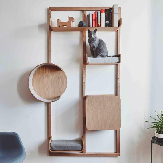 FURST - Alto wall-mounted cat tree with ADVANCE configuration