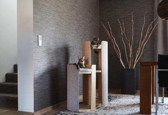 FURST - Magnificent harmony of the cat tree torre beige ash
