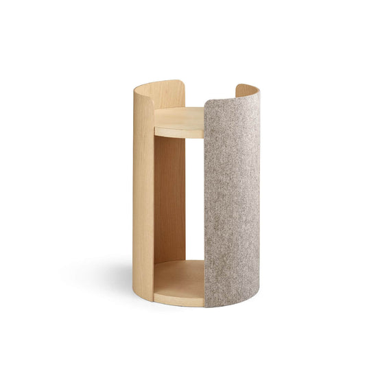 FURST - Small tower of the high-end and design cat tree torre beige ash