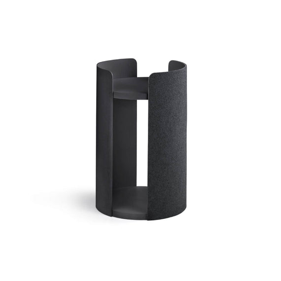 FURST - Small tower of the high-end cat tree torre in black ash color