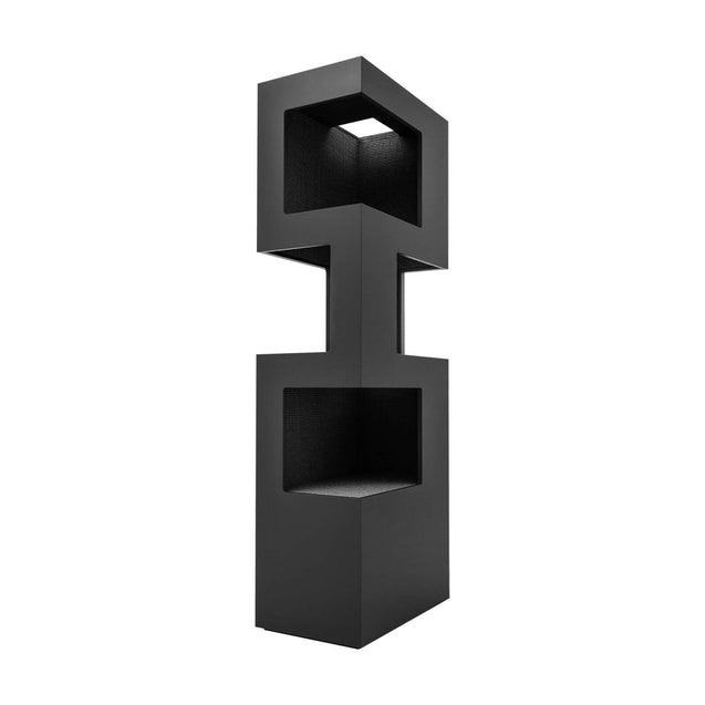 FURST - Very elegant high-end design cat tree in anthracite color and anthracite sisal