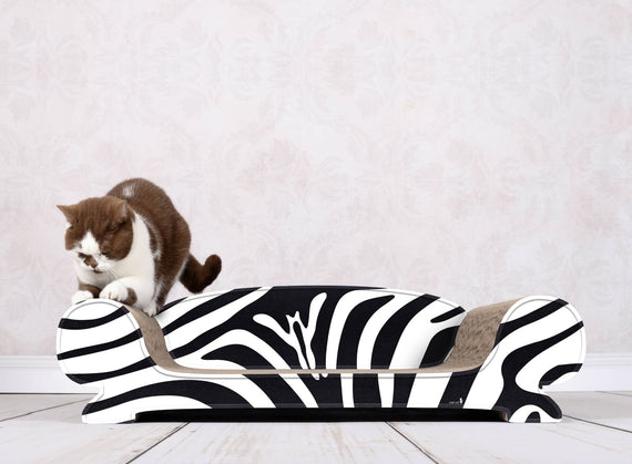 FURST - Scrapbook upscale and original scraper natural for black and white zebra color cat