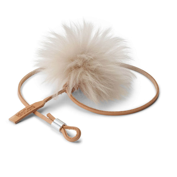 FURST - High-end pompom para entreter o seu gato cor natural