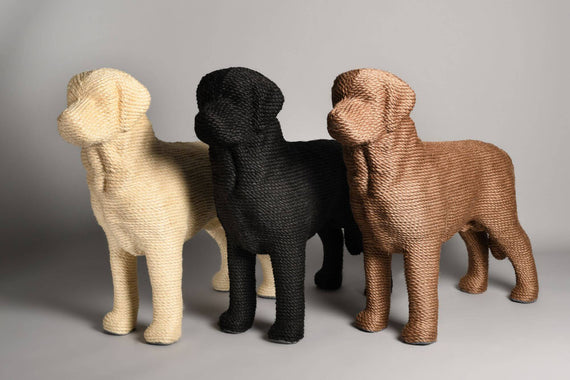 FURST - Modern cat scratching posts and dog-shaped design