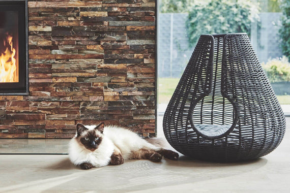 FURST - Perla design den for cat in anthracite