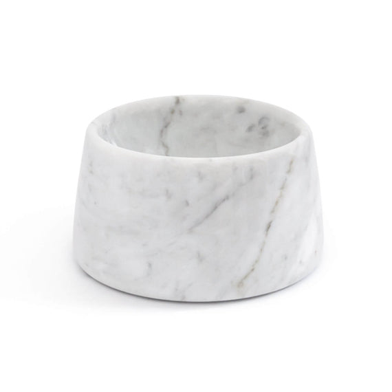 FURST - High-end white marble bowl / bowl for white cat