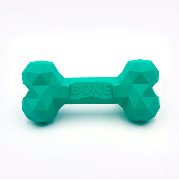 FURST - Origami high quality chew toy for dogs in mint green bones