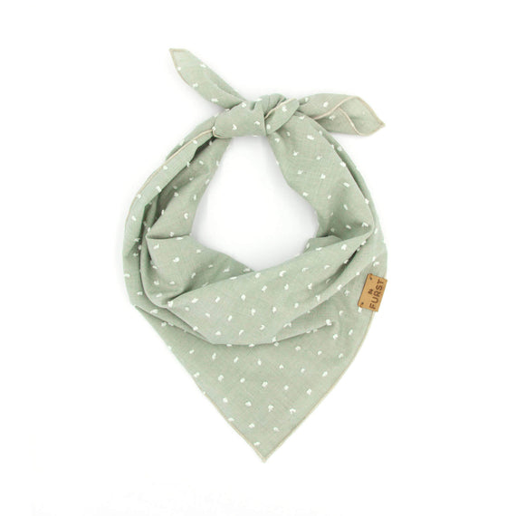 FURST - Stylish bandana for dog tied in scarf