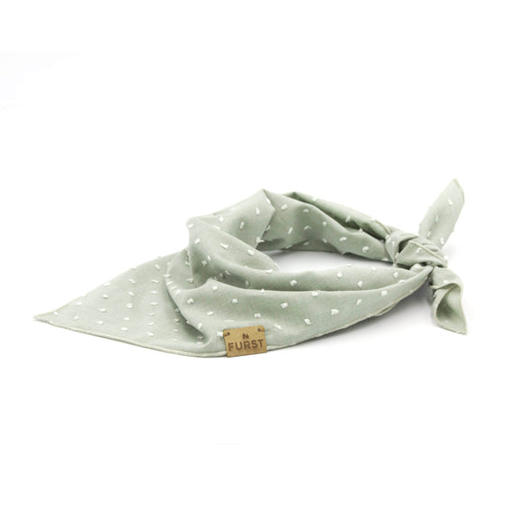 FURST - Stylish dog bandana in plumetis cotton