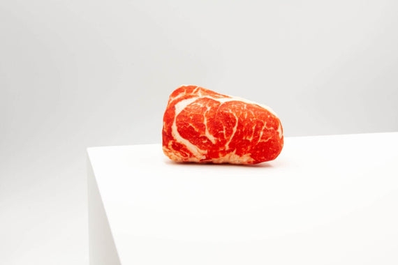 FURST - Imitation dog toy design the Steak Barbak in the form of a beautiful piece of beef