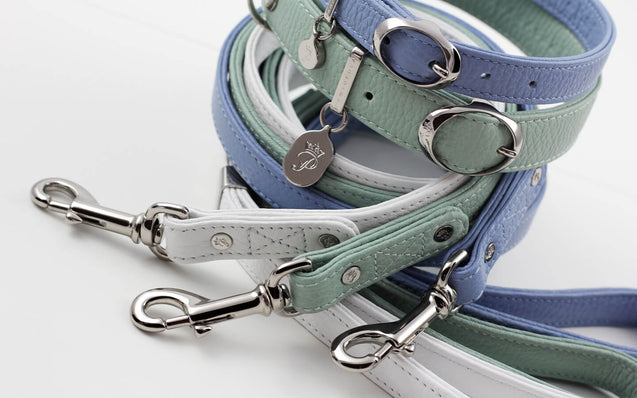 FURST - A collection of exceptional necklaces high-end dog leather Italian high quality in several colors