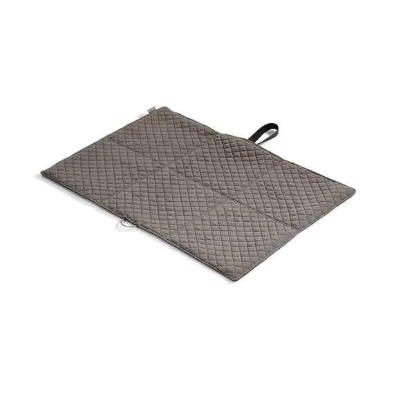 FURST - Exit mat in folding format for medium dog in graphite and pebble color