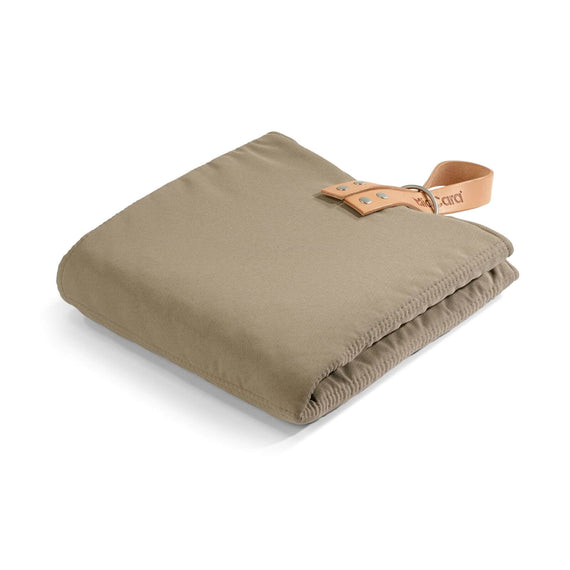 FURST - Exit mat in folding format for medium dog in taupe and mineral color