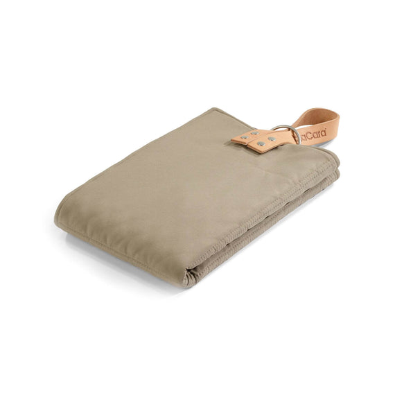 FURST - Taupe and mineral color folding exit mat for small dogs