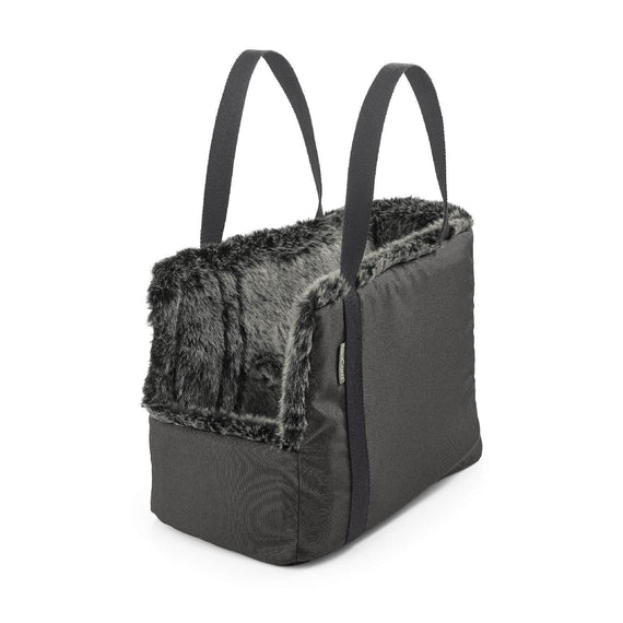 FURST - Via travel bag for dogs in anthracite color