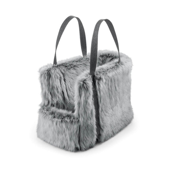 FURST - Via bag for dogs in gray color