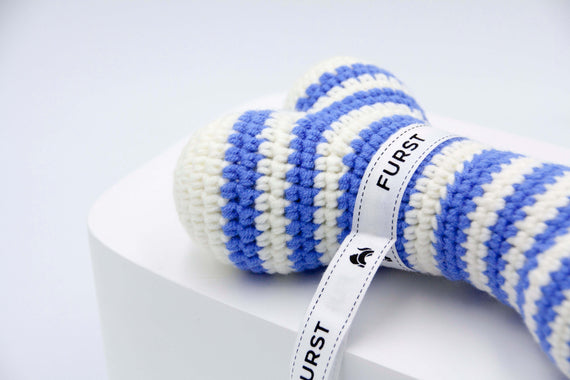 FURST - High quality Atlas dog toys in azure bones