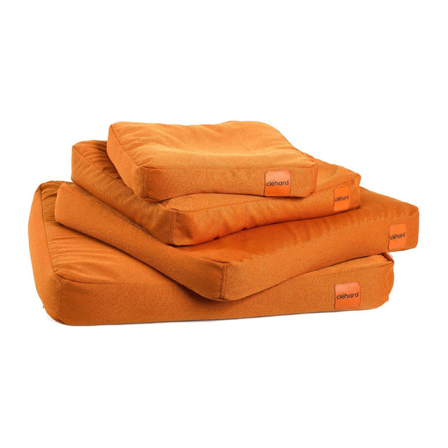 FURST - Cushions high-end cork for the well-being and comfort of the dog of orange color