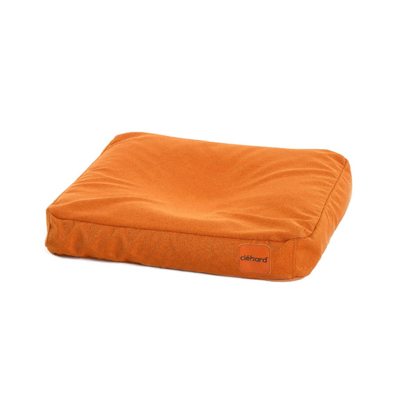 FURST - Cushion high-end cork for medium dog of orange color