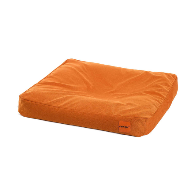 FURST - Cushion high-end cork for very big dog of orange color