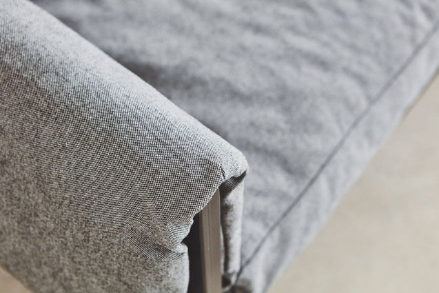 FURST - Sofa, left angle, light gray