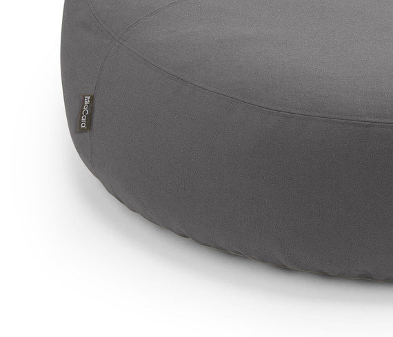 FURST - Overview of the Scala pouf for slate dog