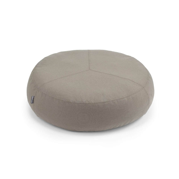 FURST - Stella high end pouf for small and medium taupe dog