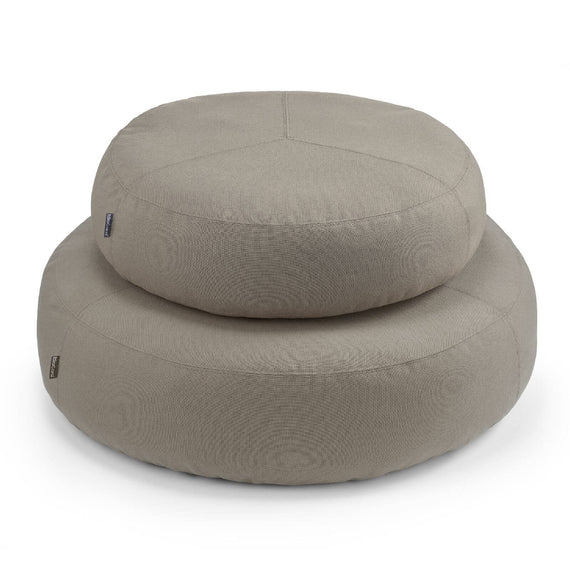 FURST - Stella high end taupe dog pouf