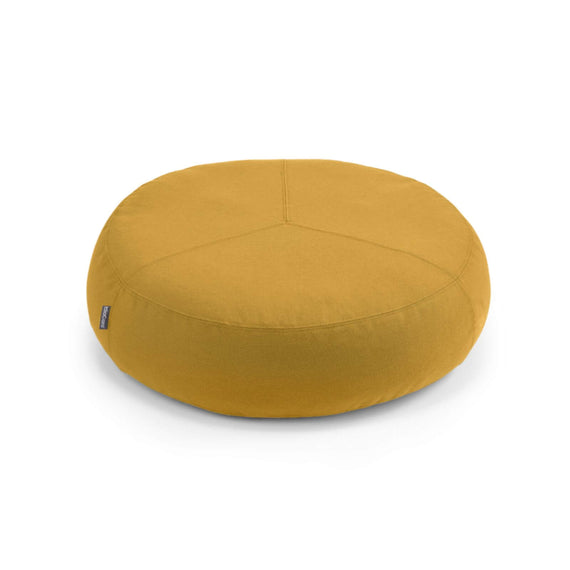 FURST - Stella high-end pouf for small and medium saffron colored dog