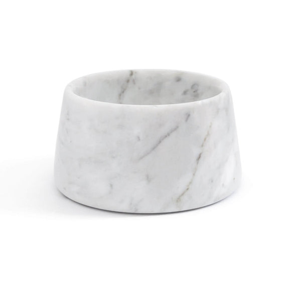 FURST - Bowl / bowl high-end marble for small white dog