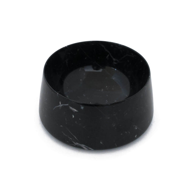 FURST - Bowl / Bowl high-end marble for black tiger black cat