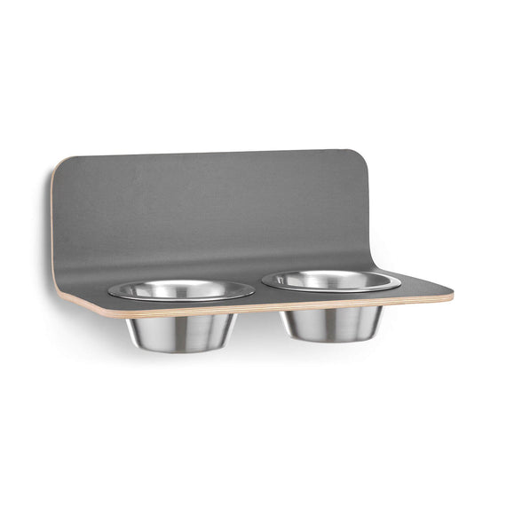 FURST - Set of high-end mature bowls for medium and large gray dogs