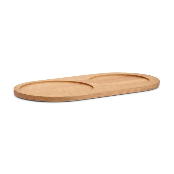 FURST - Natural ash tray for Doppio bowls for medium and large dogs