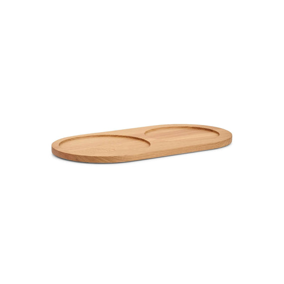 FURST - Natural ash tray for Doppio bowls for small and medium dogs