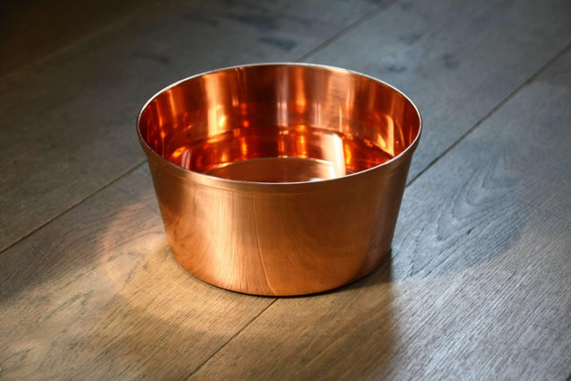 FURST - High quality pure copper bowl for small and medium dogs