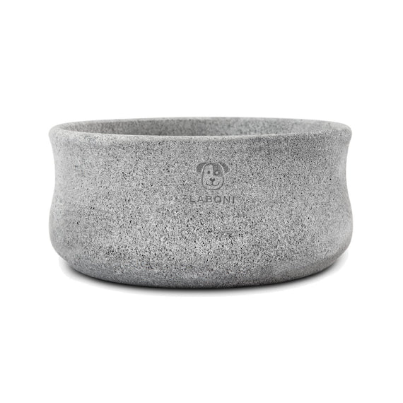 FURST - High quality soapstone bowl for gray dogs