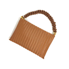 Load image into Gallery viewer, THE KNOT CLUTCH CINNAMON / BROWN