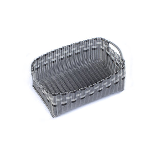 ALMA HOME BASKET SILVER LINES M