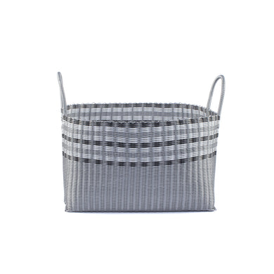 ALMA HOME BASKET SILVER LINES XL