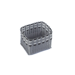 ALMA HOME BASKET SILVER LINES XS