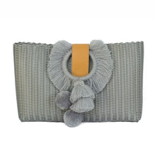 Load image into Gallery viewer, TONATI OVERSIZED CLUTCH SILVER