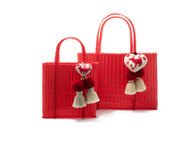 Load image into Gallery viewer, OTOMI TOTE RED