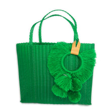 Load image into Gallery viewer, TONATI TOTE GREEN
