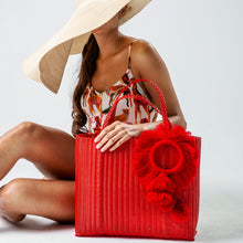 Load image into Gallery viewer, TONATI TOTE RED