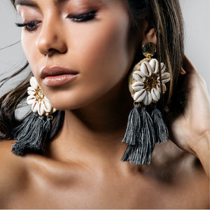 NEON REEF EARRING GREY